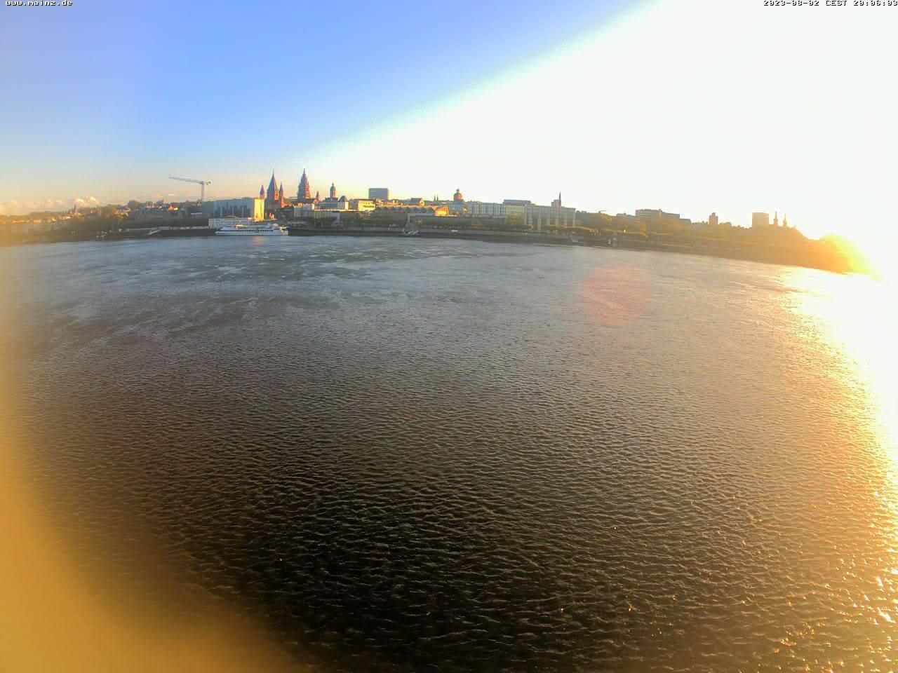 Webcam Mainz Rhein
