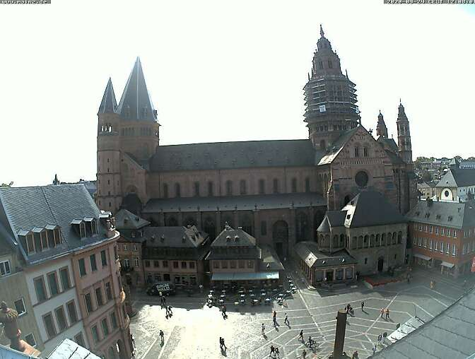 Webcam Mainz Dom