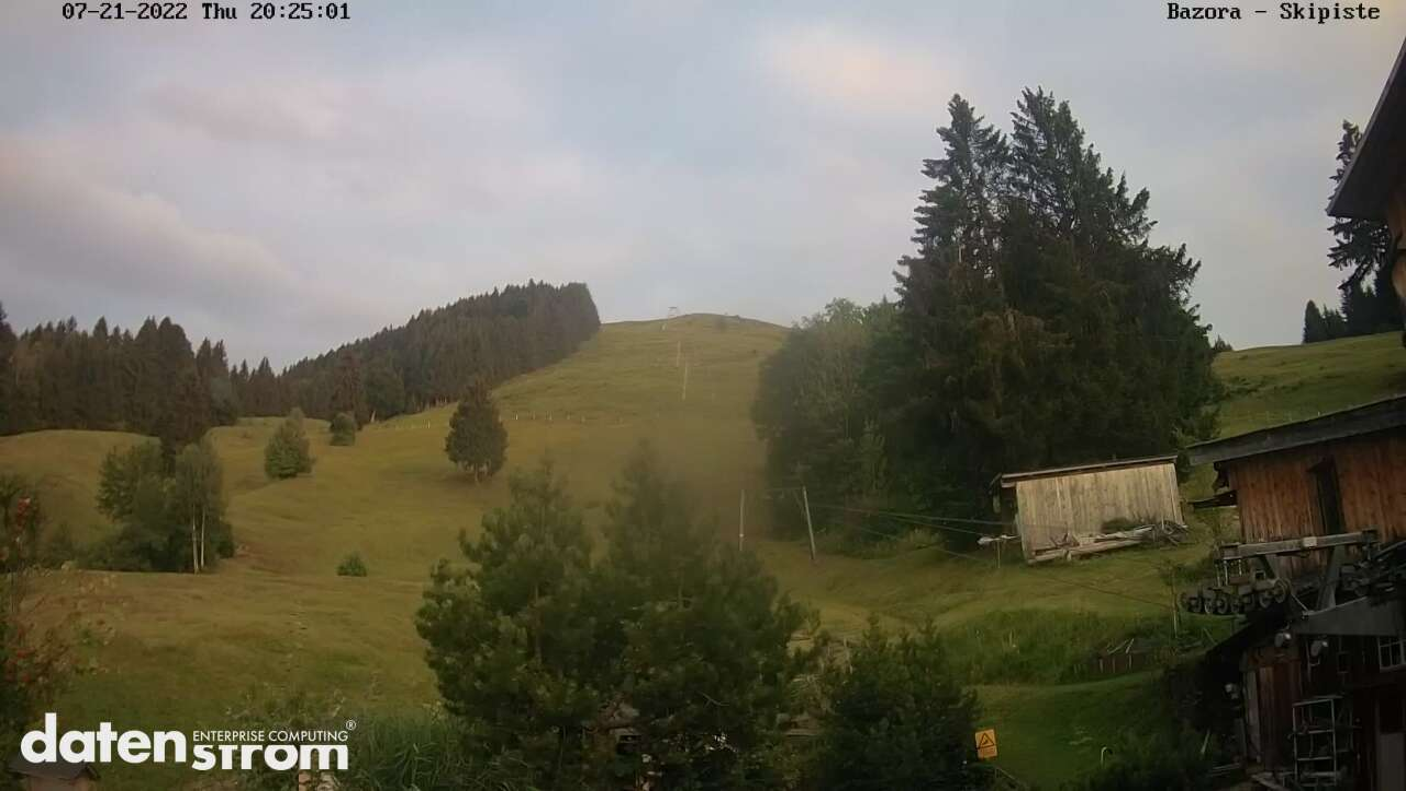 Frastanz Bazora (Blick auf Skilift)