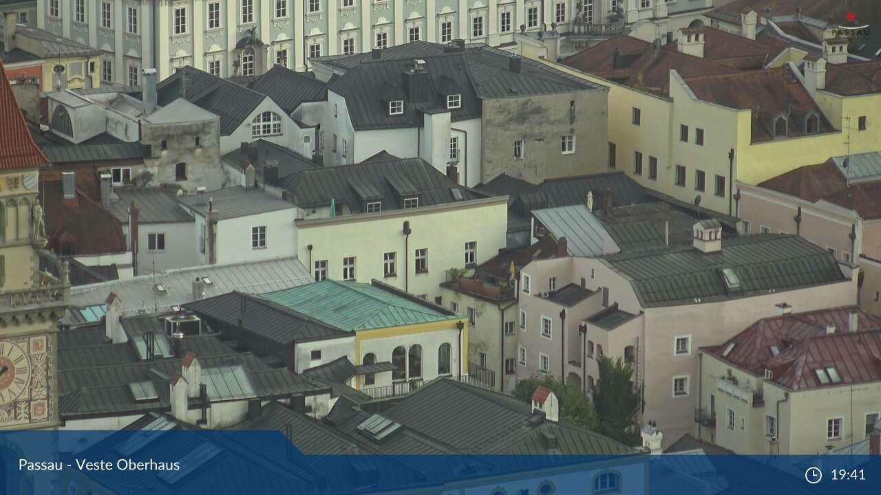 bergfex - Webcam Veste Oberhaus: Webcam Passau - Cam