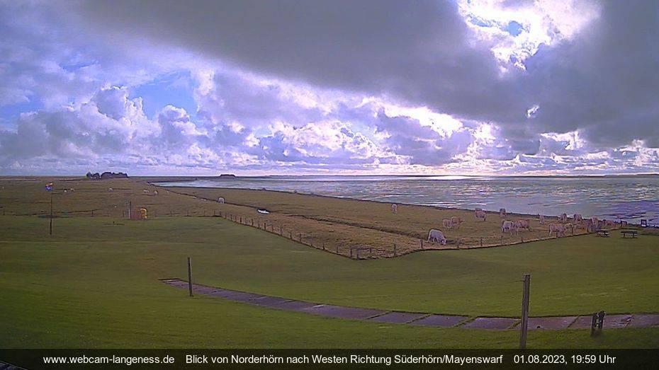 bergfex - Webcam Norderhörn: Webcam Hallig Langeneß - Cam